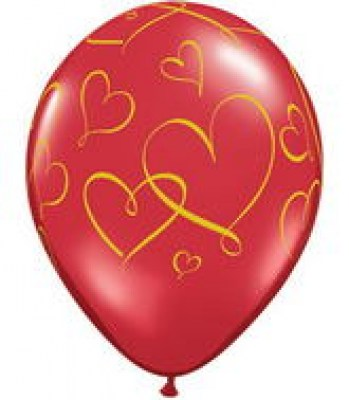 40207-gold-red-latex-balloons